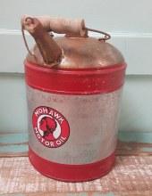 Mohawk Motor Oil Can