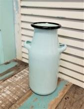 Light Blue Milk Pot Enamel
