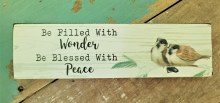 Be Filled With Wonder Shelf