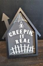 Creepin Framed Halloween House