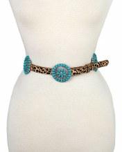 Belt - Lg Xlg Turquoise