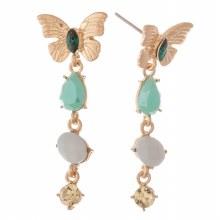 Butterfly Jewel Dangle Earring