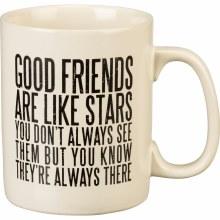 Friends Are Like Stars Mug