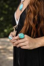 Large Turquoise Stone Ring