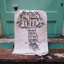 My Family Tree has some Twisted Freakin' Roots Towel