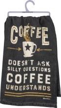 Coffee Understands Hand Towel