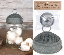 Screen Dome Mason Jar Lid