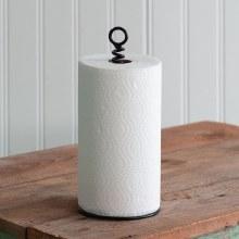 Corkscrew Paper Towel Holder