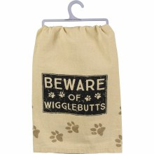 Beware Of Wigglebutts Towel