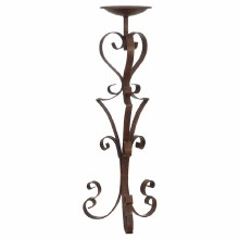 Rod Iron Tall Candle Holder