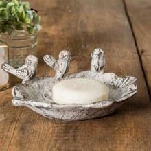 Bird Soap Dish Cast Iron