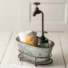 Oval Container With Faucet