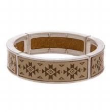 Aztec Stretch Bracelet