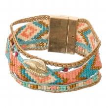 Bracelet Beaded Puka Shell