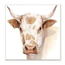 Spotted Brown Cow Wall Art