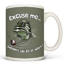 Excuse Me Fish Mug