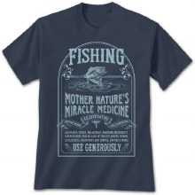 Short Sleeve Fishing Cure Graphic Tee