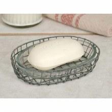 Silver Wire Soap Dish