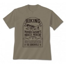 Short Sleeve Hiking Cure Graphic Tee