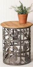 Sm Bird Cutout Side Table