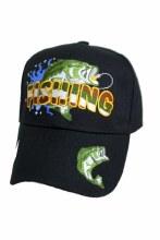Black Fishing Hat
