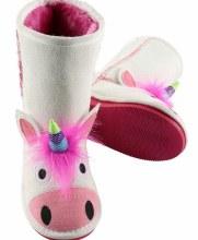 Unicorn Toasty Toes Xxs White
