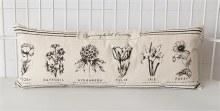 Black & White Botanical Pillow