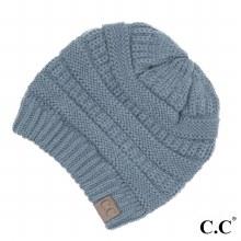 Denim Cc Beanie Hat