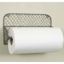 Chicken Wire Paper Towel Holde
