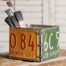 License Plate Box