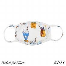 Super Soft Kids Mason Jar Face Mask