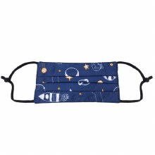 Navy Space Kids Mask