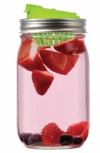 Mason Jar Fruit Infusion Lid
