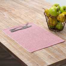 Harmony Red Placemat Set Of 6