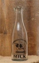 Milk Bottle Ephrata Creamery