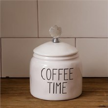 Canister Coffee Time