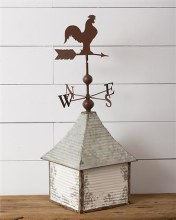 Rooster Weather Vane Table Decor Centerpiece