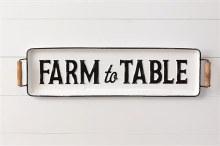 Farm To Table Tray Wall Hangin