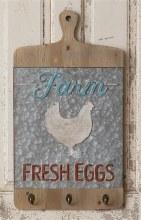 Farm Fresh Eggs Cutting Board