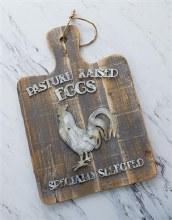 Pasture Raised Eggs Sign