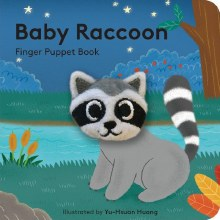 Baby Raccoon Puppet Book