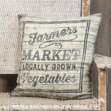 Farmer's Market Pillow