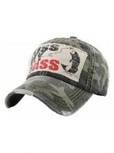 Camo Kiss My Bass Hat