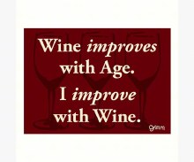 Wine Improves Magnet
