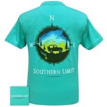 Short Sleeve Mens Compass T-Shirt