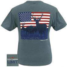 Short Sleeve American Deer T-shirt