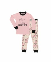 Youth Girls Hogs & Kisses Pj's