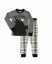 Youth Boys Bear Hug Pj's