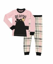 Youth Girls Bear Hug Pj's