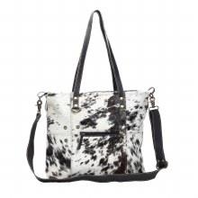 Black & White Hairon Tote Bag